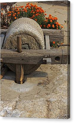 The Mill Stone Canvas Print by Qing