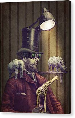 The Miniature Menagerie Canvas Print by Eric Fan