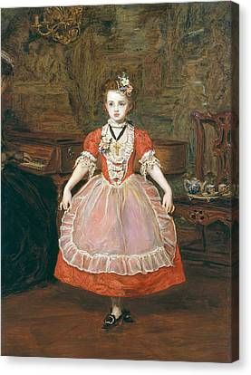 The Minuet  Canvas Print by Sir John Everett Millais