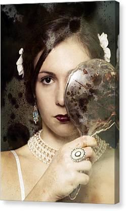 The Mirror Canvas Print by Joana Kruse