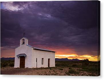 The Mission Trail Canvas Print by Aaron S Bedell
