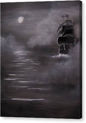 The Mist Canvas Print by Eugene Budden