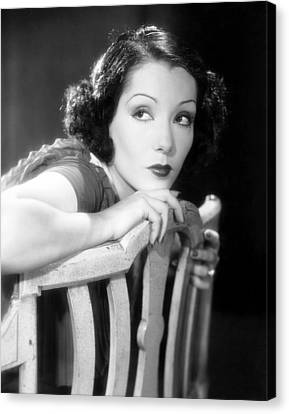 The Morals Of Marcus, Lupe Velez, 1935 Canvas Print by Everett