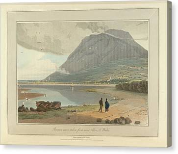 The Mountain Peak Of Penman-mawr Canvas Print by British Library