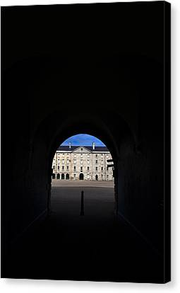The National Museum Of Ireland, Archway Canvas Print by Panoramic Images