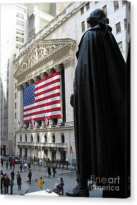 The New York Stock Exchange Canvas Print by RicardMN Photography