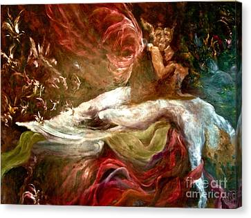 The Nightmare Canvas Print by Michelle Dommer