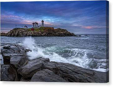 The Nubble In Color Canvas Print by Rick Berk
