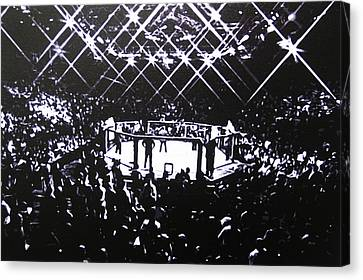 The Octagon Canvas Print by Geo Thomson