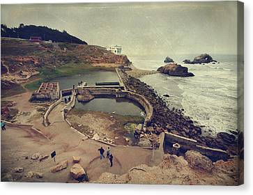 The Old Bath House Canvas Print by Laurie Search