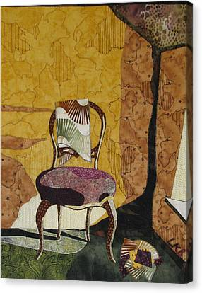 The Old Chair Canvas Print by Lynda K Boardman