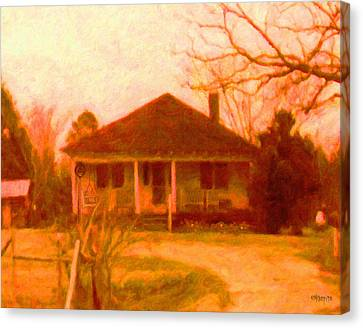 The Old Home Place Canvas Print by Rebecca Korpita