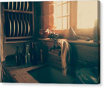 The Old Kitchen Canvas Print by Mountain Dreams