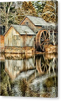 The Old Mill Canvas Print by Darren Fisher
