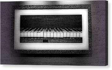 The Old Piano Canvas Print by Dan Sproul
