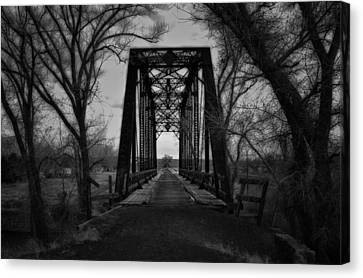 The Old Wadsworth Bridge Canvas Print by Kurt Golgart