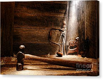 The Old Workshop Canvas Print by Olivier Le Queinec