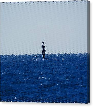 The Open Sea Canvas Print by Toppart Sweden