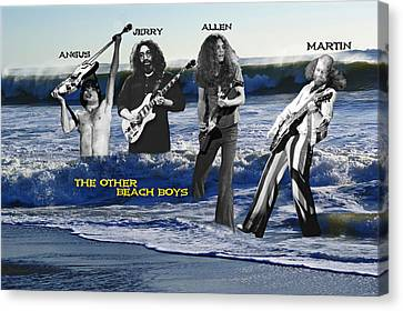 The Other Beach Boys Canvas Print by Ben Upham