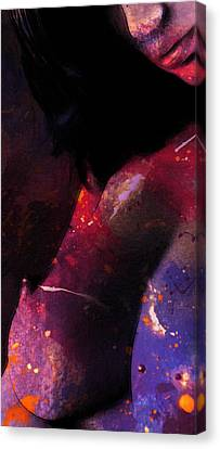 The Painters Work Canvas Print by Stefan Kuhn