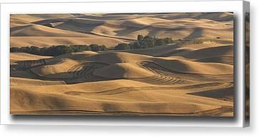 Harvest Hills Canvas Print by Latah Trail Foundation