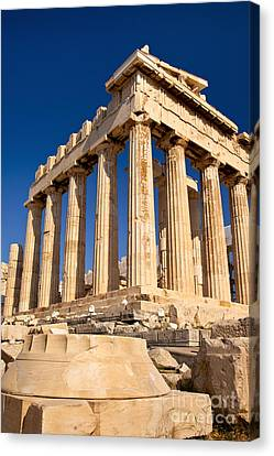 The Parthenon Canvas Print by Brian Jannsen