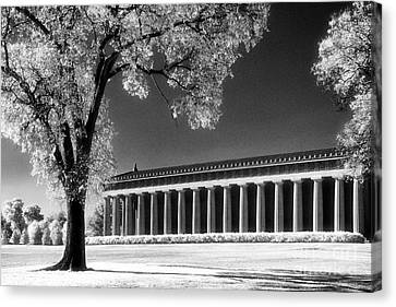 The Parthenon Canvas Print by Jeff Holbrook