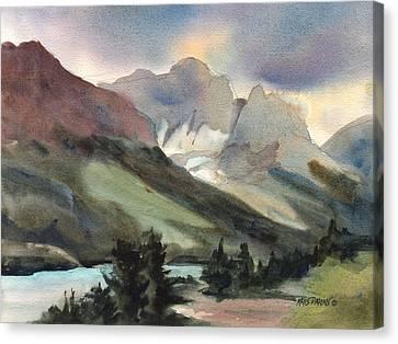 The Pass Canvas Print by Kris Parins