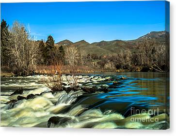 The Payette River Canvas Print by Robert Bales