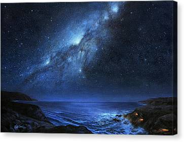 The People Of Pinnacle Point Canvas Print by Lucy West