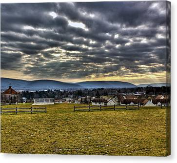 The Perfect View Canvas Print by Tim Buisman