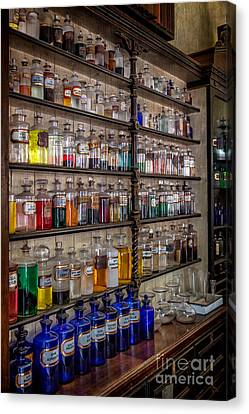 The Pharmacy Canvas Print by Adrian Evans