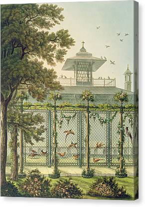 The Pheasantry Canvas Print by Humphry Repton