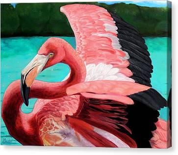 The Phoenix Canvas Print by Maritza Tynes