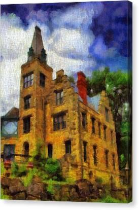 The Piatt Castle Canvas Print by Dan Sproul