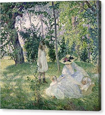 The Picnic Canvas Print by Henri Lebasque