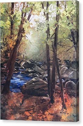 The Pilgrimage Canvas Print by Kris Parins