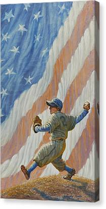 The Pitcher Canvas Print by Gregory Perillo
