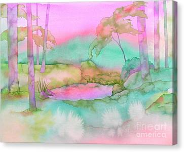 The Pond Canvas Print by Robert Hooper