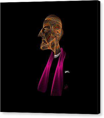 The Pope Canvas Print by Hayrettin Karaerkek