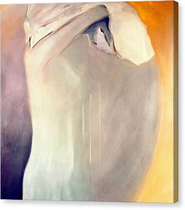 The Potential Of Death/birth Canvas Print by Jodie Marie Anne Richardson Traugott          aka jm-ART