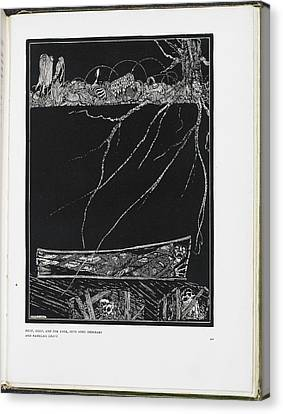 The Premature Burial Canvas Print by British Library