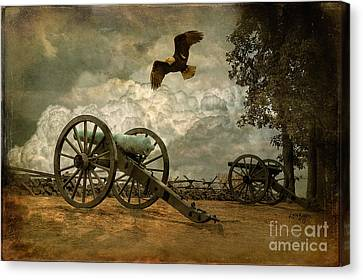 The Price Of Freedom Canvas Print by Lois Bryan