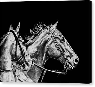 The Racers Canvas Print by Camille Lopez