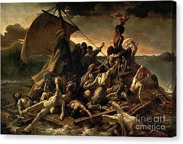 The Raft Of The Medusa Canvas Print by Celestial Images