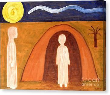 The Raising Of Lazarus Canvas Print by Patrick J Murphy