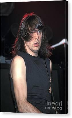 The Ramones - Johnny Ramone Canvas Print by Concert Photos