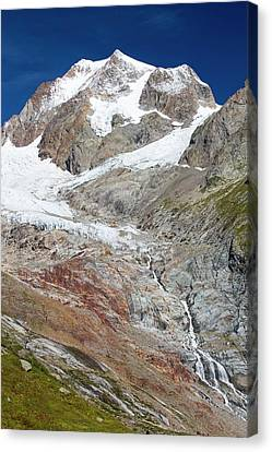 The Rapidly Retreating Glaciers Canvas Print by Ashley Cooper