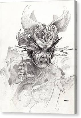 The Rascal Canvas Print by Ethan Harris