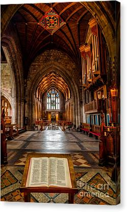 The Reading Room Canvas Print by Adrian Evans